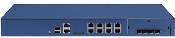 Nexcom NSA-5640 Frontansicht