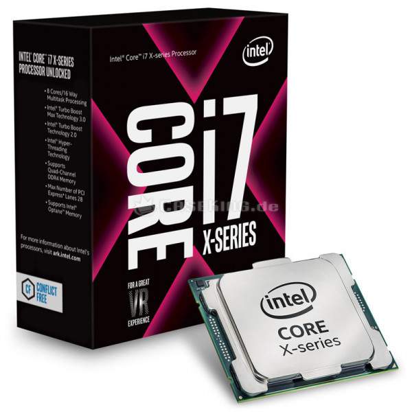 Intel® Core™ i7-7820X X-series Processor (11M Cache, up to 4.30 GHz) FC-LGA14B, Box
