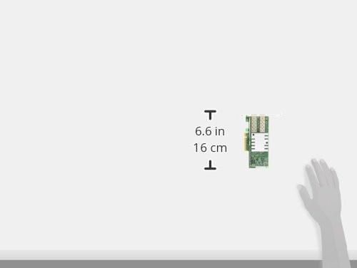 Intel X520-DA2 Ethernet Serveradapter (PCI Express 2.0 x8 schmales Profil, 10 Gigabit Ethernet