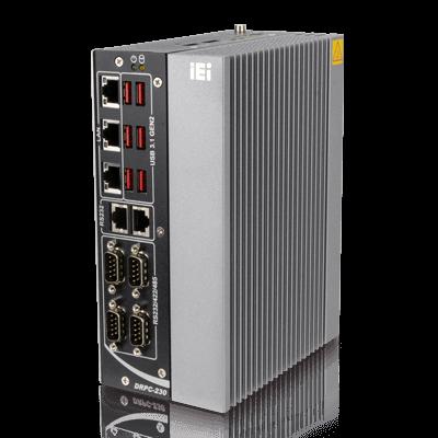 iEi DRPC-230-ULT5-i5-S Vorderseite 2