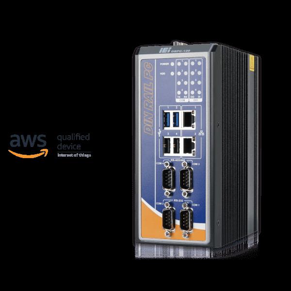 iEi DRPC-120-BT Vorderseite
