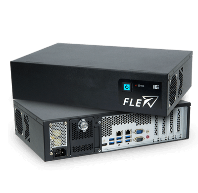 iEi FLEX-BX200-C246 Vorder- und Rückseite