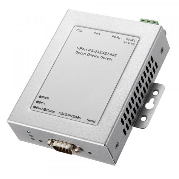 JetPort 5601 1-Port RS-232/422/485 Serieller Geräteserver