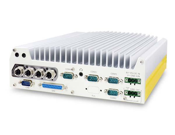 Neousys Nuvo-7100VTC Vorderansicht