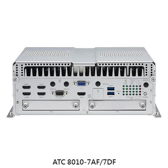 Nexcom ATC 8010-7A/AF/DF Vorderansicht