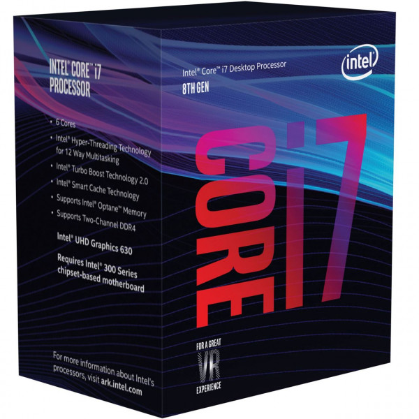 Intel Core i7-8700, 6x 3.20GHz