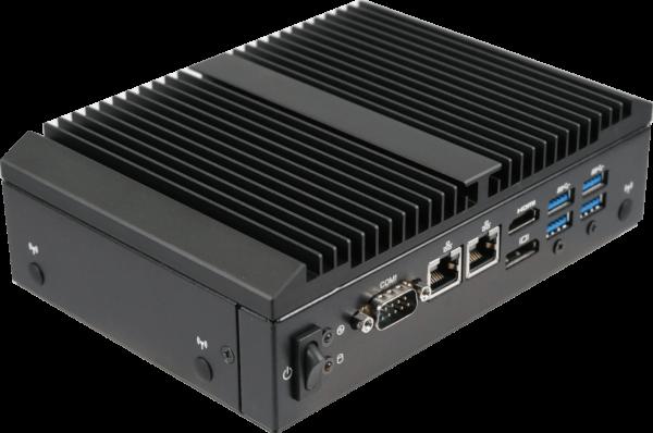 GIGAIPC QBiX-Pro-KBLB7100H-B1 Vorderseite
