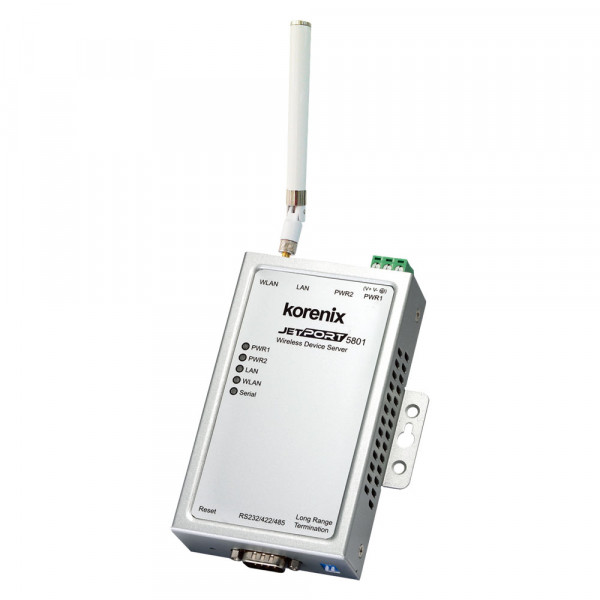 Korenix JetPort-5801 kabelloser serieller Geräteserver