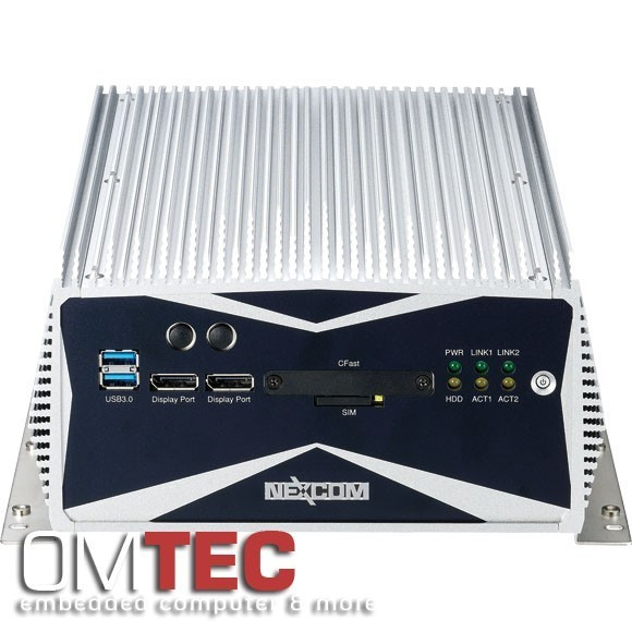 Nexcom NISE-3600P2E fronansicht