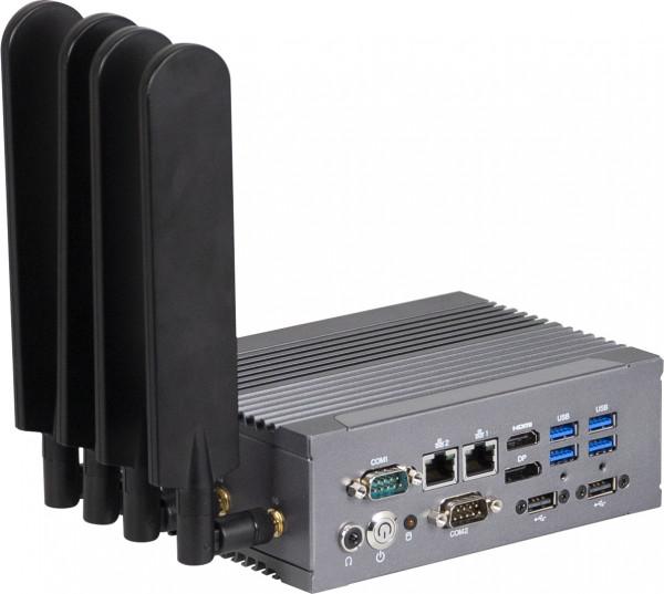 GIGAIPC QBiX-Pro-KBLB7100HD-A1 Vorderseite