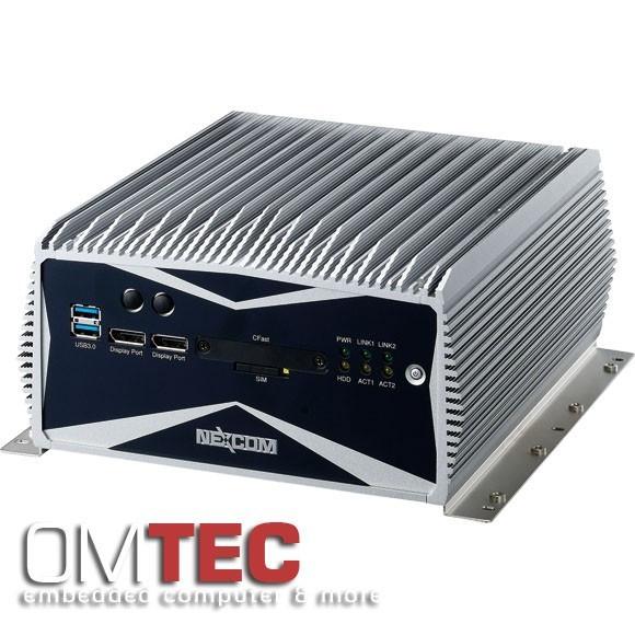 NISE 3600E2 3rd Generation Intel® CoreTM i3/ i5 rPGA - QM77 PCH Plattform - lüfterlos - Intel® GbE L