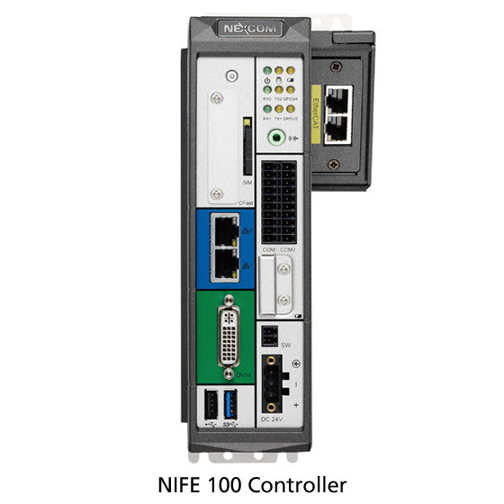 NEXCOM Nife-100/101 Vorderansicht