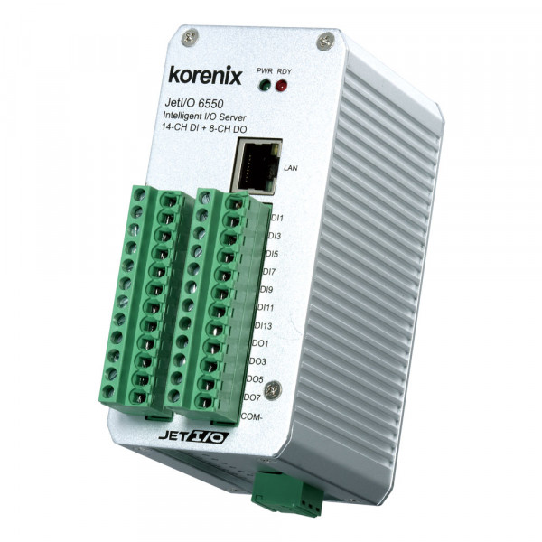 JetI/O 6550 Intelligenter 14-Kanal DI und 8-Kanal DO Ethernet I/O Server