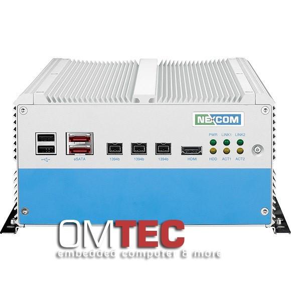 NISE 3500M2E Intel® Core™ i7/i5 - lüfterlos - IEEE 1394b, eSATA, HDMI
