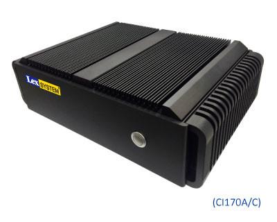 LEXCOM TWISTER + CI170C Vorderansicht