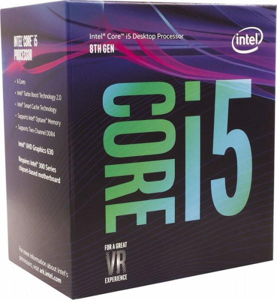 Intel® Core™ i5-8500 Processor (9M Cache, up to 4.10 GHz) FC-LGA14C