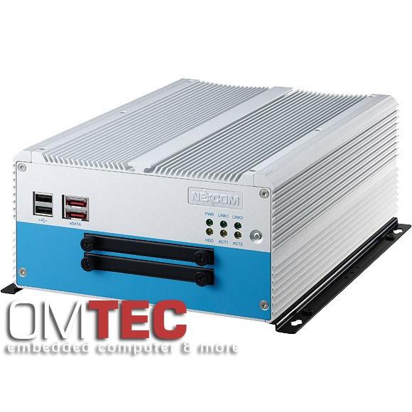 NISE 3500P2S Intel® Core™ i7/i5 - lüfterlos - 4GB DDR3 - RAID