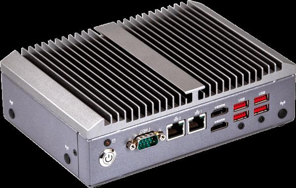 GIGAIPC QBiX-Pro-WHLA8565H-A2 Vorderseite