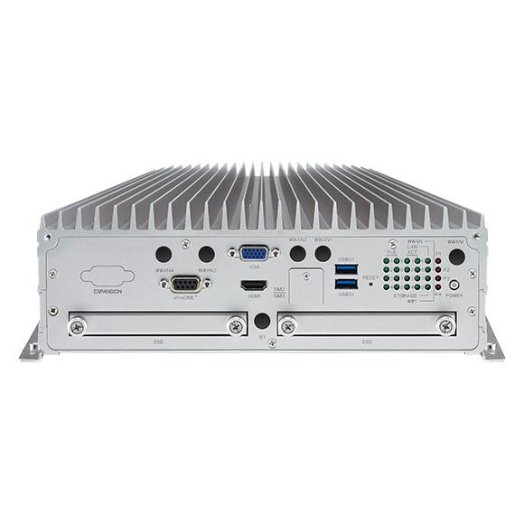 NEXCOM VTC 7250-7C8 Vorderansicht