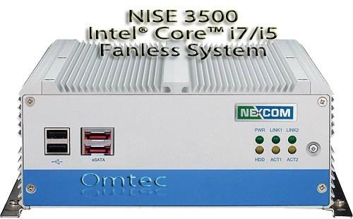 NISE 3500, Intel® Core™ i7/i5 - lüfterlos - VGA, DVI-D, eSATA