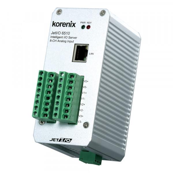JetI/O 6510 Intelligenter 8-Kanal Analog Input Ethernet I/O Server