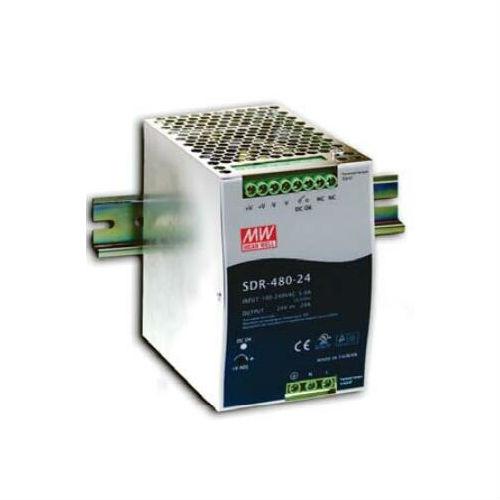 SDR-48024 - 480W, 24V - DIN-Rail Netzteil