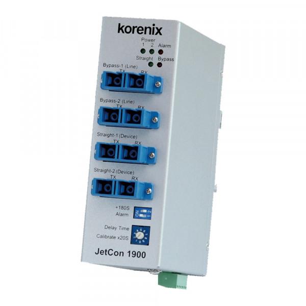 JetCon 1900 Industrieller Optischer umgehungs Switch
